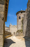 Carcassonne, France. The picturesque medieval fortress. UNESCO List Stock Photography