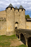 Carcassonne, France, UNESCO. Castle Stock Photo