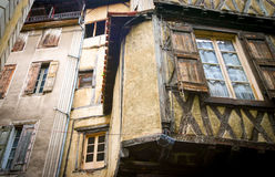 Carcassonne, France. A view of typical French urban architecture in Carcassonne, a historic city in the south-west of France Stock Photo