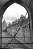 Carcassonne (France), the walls Stock Photo