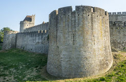 Carcassonne (Frances) Image stock