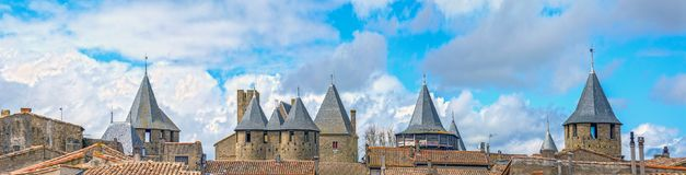 Carcassonne, Francja Obraz Royalty Free