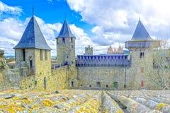 Carcassonne, Francja obrazy royalty free