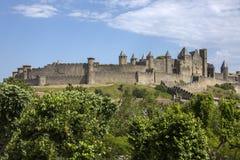 Carcassonne Francja - Obrazy Royalty Free