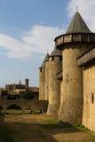Carcassonne, Frankreich, UNESCO. Schloss Stockfoto