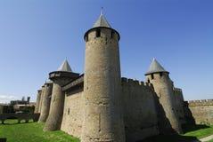 Carcassonne Frankrijk Stock Afbeelding