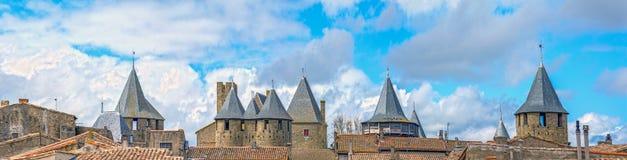 Carcassonne Frankrike Royaltyfri Bild
