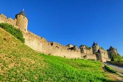 Carcassonne Frankrike Royaltyfri Foto