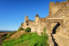 Carcassonne Frankrike Arkivbilder