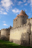 Carcassonne kasztel Zdjęcia Stock