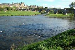 Carcassonne kasztel Obraz Stock