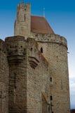 Carcassonne kasztel Obrazy Royalty Free