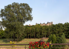 Carcassonne Landscape Stock Images