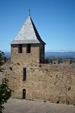 Carcassonne, Languedoc Roussillon, France Stock Images