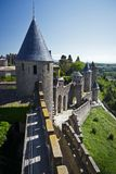 Carcassonne, Languedoc Roussillon, France Royalty Free Stock Photos