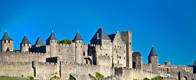 Carcassonne, Languedoc Roussillon, France Stock Photography