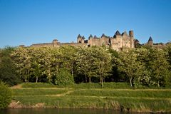 Carcassonne, Languedoc Roussillon, France Royalty Free Stock Photography