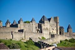 Carcassonne, Languedoc Roussillon, Francia Fotografie Stock Libere da Diritti