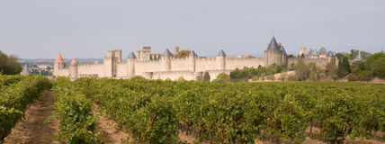 Carcassonne Medieval City Stock Photography