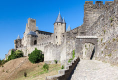 Carcassonne Medieval City France Royalty Free Stock Photography
