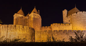Carcassonne Medieval City France Stock Photo