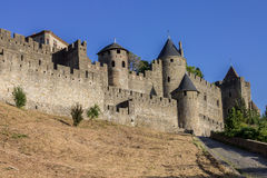 Carcassonne Medieval City France Stock Photography