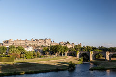 Carcassonne Medieval City France Stock Images