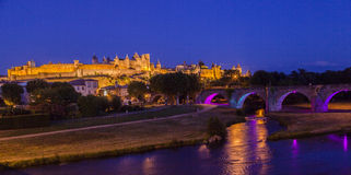 Carcassonne Medieval City France Stock Image