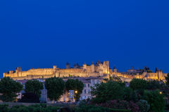 Carcassonne Medieval City France Royalty Free Stock Photos