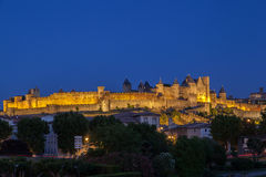 Carcassonne Medieval City France royalty free stock photo
