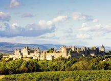 carcassonne miasto Obrazy Royalty Free