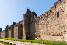 Carcassonne stock image