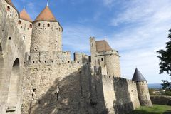 Carcassonne Royalty Free Stock Photo