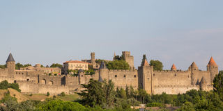 Carcassonne's Walls Stock Photos