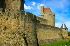 Carcassonne scenery Royalty Free Stock Images