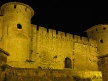 Carcassonne slott Royaltyfria Bilder