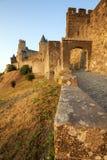 carcassonne slott Arkivfoton