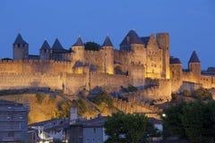 carcassonne slott Royaltyfri Foto