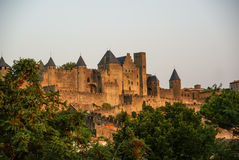 Carcassonne, South France Stock Photography