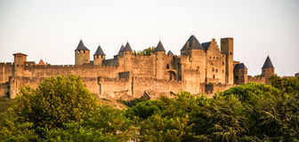 Carcassonne, South France Royalty Free Stock Photos