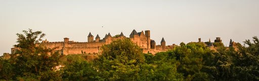 Carcassonne, South France Stock Photo