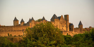 Carcassonne, South France Stock Images