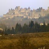 carcassonne stad Royaltyfria Bilder