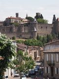 Carcassonne in summer Royalty Free Stock Image