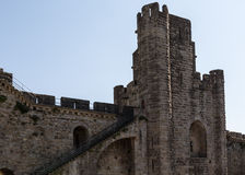 Carcassonne Tower Stock Photo