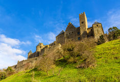 Carcassonne town walls - France Royalty Free Stock Image