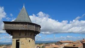 Carcassonne-Turm Stockbilder