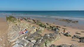 Carcavelos beach Stock Photos