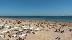 Carcavelos beach Royalty Free Stock Image