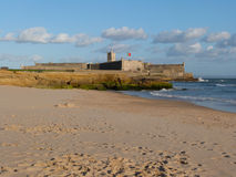 Carcavelos Fortress (Cascais, Portugal) Royalty Free Stock Images